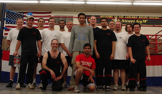 2007 Wing Tsun Seminar in Dallas with Master Emin Boztepe
