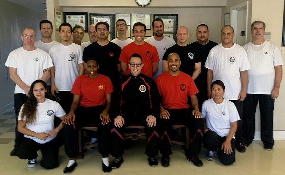 Sifu Alex Richter Wing Tsun Kung Fu Seminar at Alamo City Wing Tsun in San Antonio, Texas