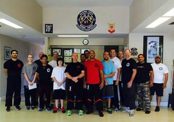 Sifu Glenn Tillman Wing Tsun Kung Fu Workshop at Alamo City Wing Tsun in San Antonio, Texas