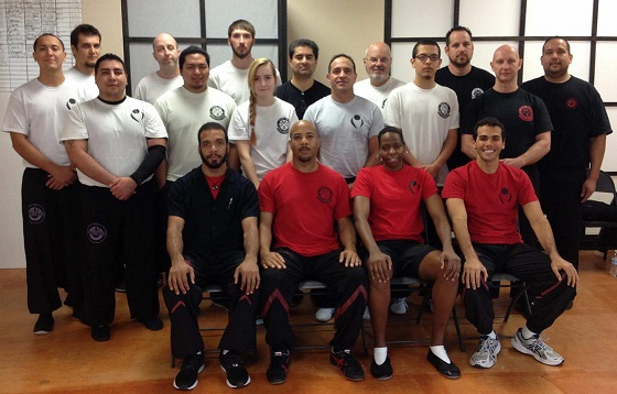 Sifu's Kaiu and Nicole Wing Tsun Kung Fu Seminar at Studio Martial Arts in San Antonio, Texas